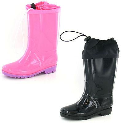 Childrens Wellington Boots UKSizes 11-2 X1189
