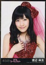 "AKB48 JAPANESE IDOL Mayu Watanabe  CD PROMO PHOTO ""Koisuru Fortune Cookie"""