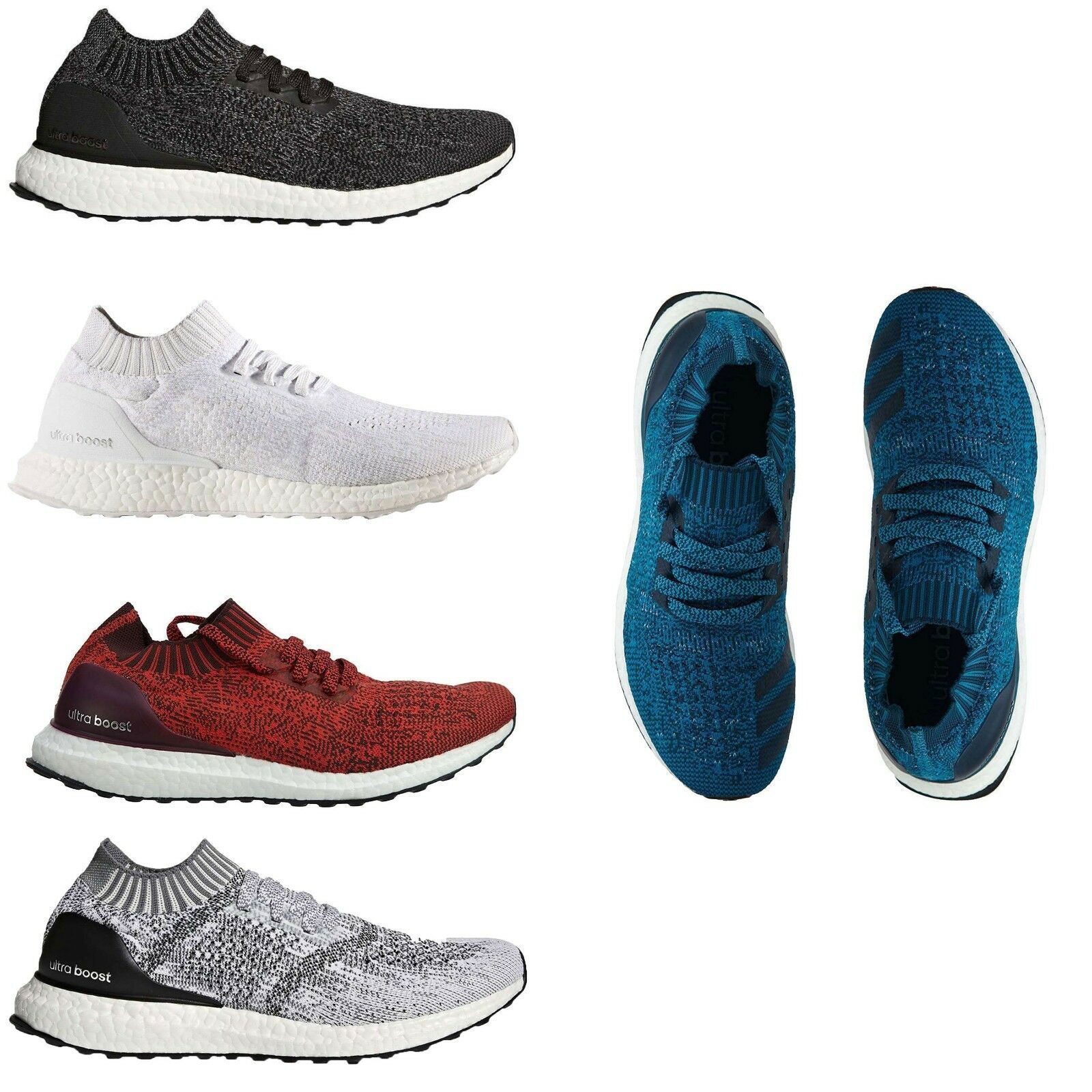 Adidas Men's Ultraboost Uncaged PrimeKnit Running Training shoes Sneakers NEW