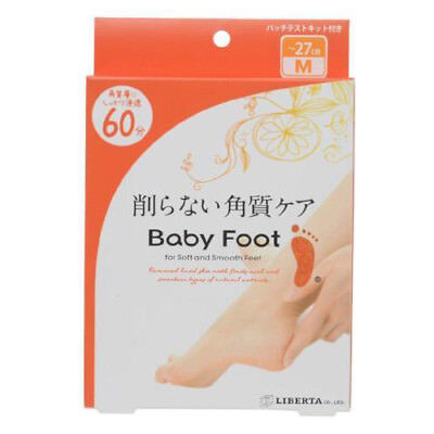 Liberta Baby Foot Exfoliation Foot Peal 60 Minutes Treatment - Size M