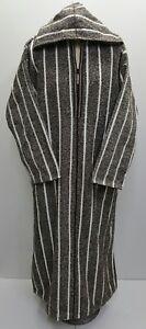 THICK Moroccan  winter wool hooded thobe//jalabiya.jubba.thobe.56