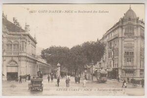 France-Tarjeta-Postal-buenas-BOULEVARD-DES-ITALIENS-P-U-1921-a91
