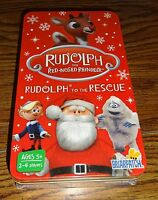 Rudolph To The Rescue Card Game In Tin Case – Brand