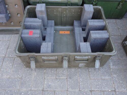 5 1x Aufbewahrungskiste 800x600x400 Aufbewahrung GFK ex Bundeswehr
