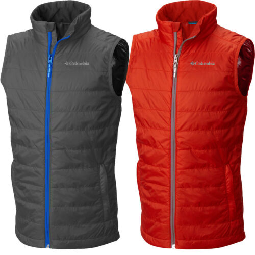 """New Boys Columbia /""""Crested Butte/"""" Omni-Heat Water-Resistant Insulated Vest"""