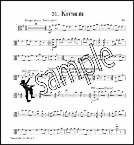 Vamoosh Viola 2 Music Book//CD Method Learn How To Play Songs SAME DAY DISPATCH