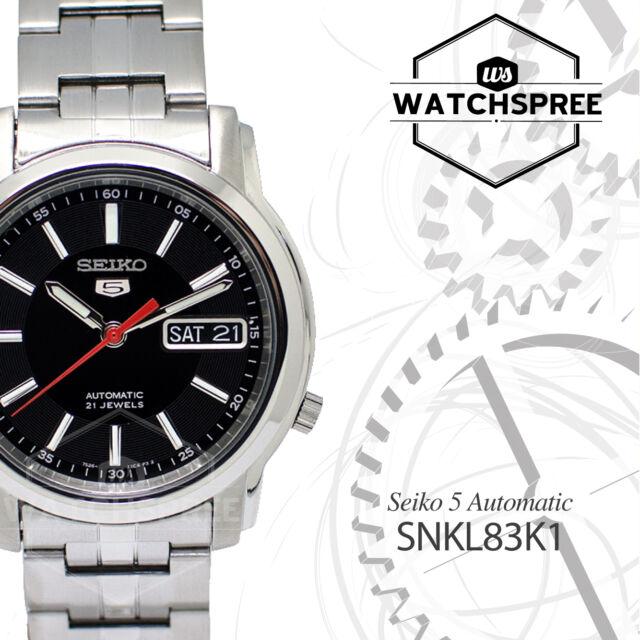 Seiko 5 Automatic Watch SNKL83K1 AU FAST & FREE
