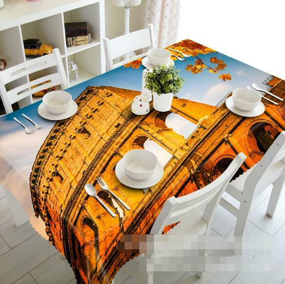 3D Roma 868 Tablecloth Table Cover Cloth Birthday Party Event AJ WALLPAPER AU
