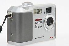 Concord Eye Q 3103 digitale Kompaktkamera 3,1MP mit 3x dig. Zoom CCC0006326