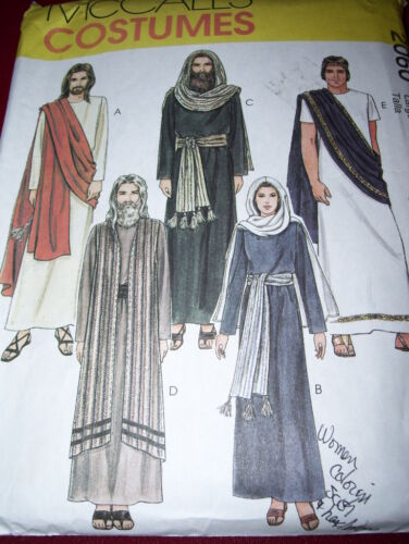 McCALL/'S #2060-PASSION OF THE CHRIST-CHRISTMAS NATIVITY COSTUME PATTERN  MED-XLG