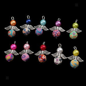 10-Pcs-Handcrafted-Charms-Beads-with-Wire-amp-Bead-Caps-for-DIY-Jewelry-Making