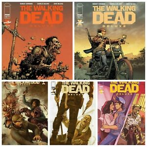 Walking Dead Deluxe #15 Cover A B C D E Variant Set Options NM