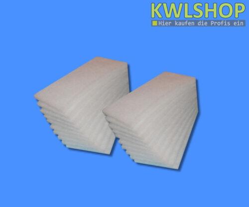 20 Stück Filter G4 für Brink Renovent HR Medium//Lange 250 //325 ohne Bypass KWL