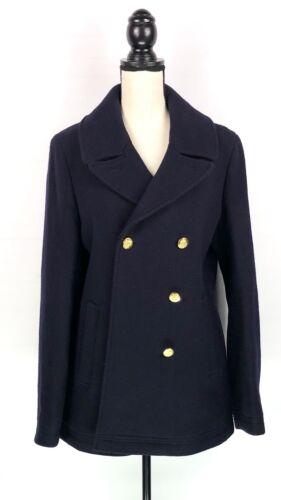 J Pea Cloth Jacket Coat Stadium Crew Uld Blue Sz Gori 16t Nello Blend Womens ZFqTZr