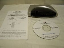 Used Creative Blaster DSL USB Modem DE7410  PN # 245-07410-10 W/ Guide & CD.