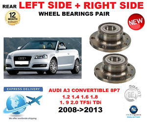 Für Audi A3 Hinterradlager 2008-2013 Cabrio Links  & Rechts OE Quality  online at best price