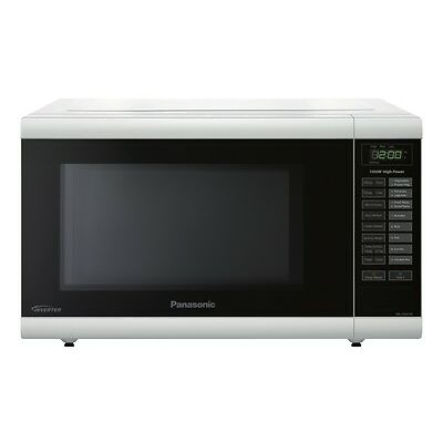 NEW Panasonic 32L 1100W White Inverter Microwave 1100W 32 Litres NN-ST641W