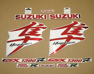 GSX-1300R-Hayabusa-2008-2009-complete-decals-sticker-graphics-kit-set-chrome-red
