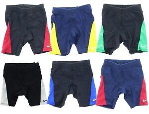 16c9c49926 Nike Boys Youth Core Color Block Team Jammer Swim Shorts Trunk ...