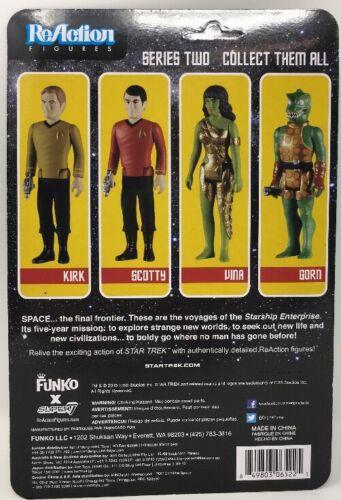 "EE Exclusive Star Trek Beaming Captain Kirk 3.75/"" ReAction Figure"