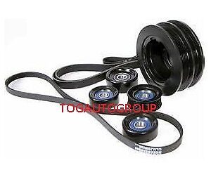 POWERBOND UNDERDRIVE BALANCER PULLEY KIT FOR COMMODORE /& HSV VT VX VY VZ LS1 LS2