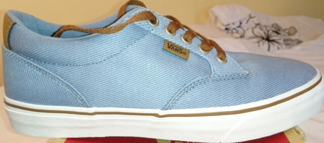 9621ae7f78 Vans Winston Twill Faded Denim   Dachshund Uk 6.5 Ladies Bnib Blue Brown  Mens