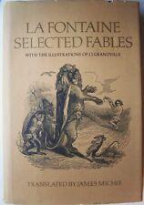 La Fontaine Selected Fables by James Michie & Jean De La Fontaine HCDJ (1979)
