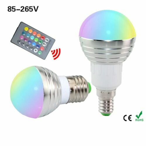 Spotlight Dimmable Magic Holiday Lighting+IR Remote Control 16 Colors