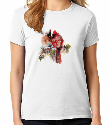 2032C Red Cardinals Kid/'s T-shirt Virginia State Bird Tee for Youth