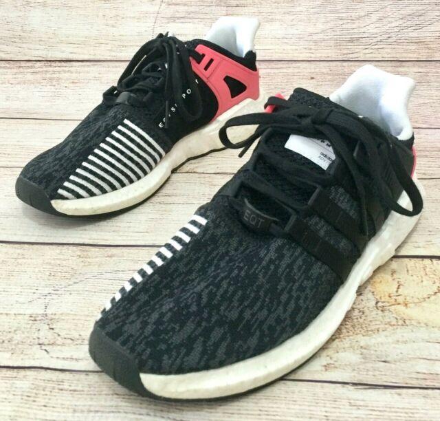 Best selling adidas EQT Support BB1234 black pink men'swomen's running shoes
