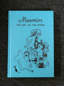 Moomin-THE-ART-AND-the-STORY-exhibition-catalogue-Book-Japan-New