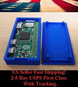 Raspberry-Pi-Zero-Case-Protective-Cover-Enclosure-Box-3D-Printed-Blue-or-Black