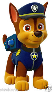 3a66e81fe PAW PATROL CHASE The Police Puppy - Window Cling Sticker Decal ...