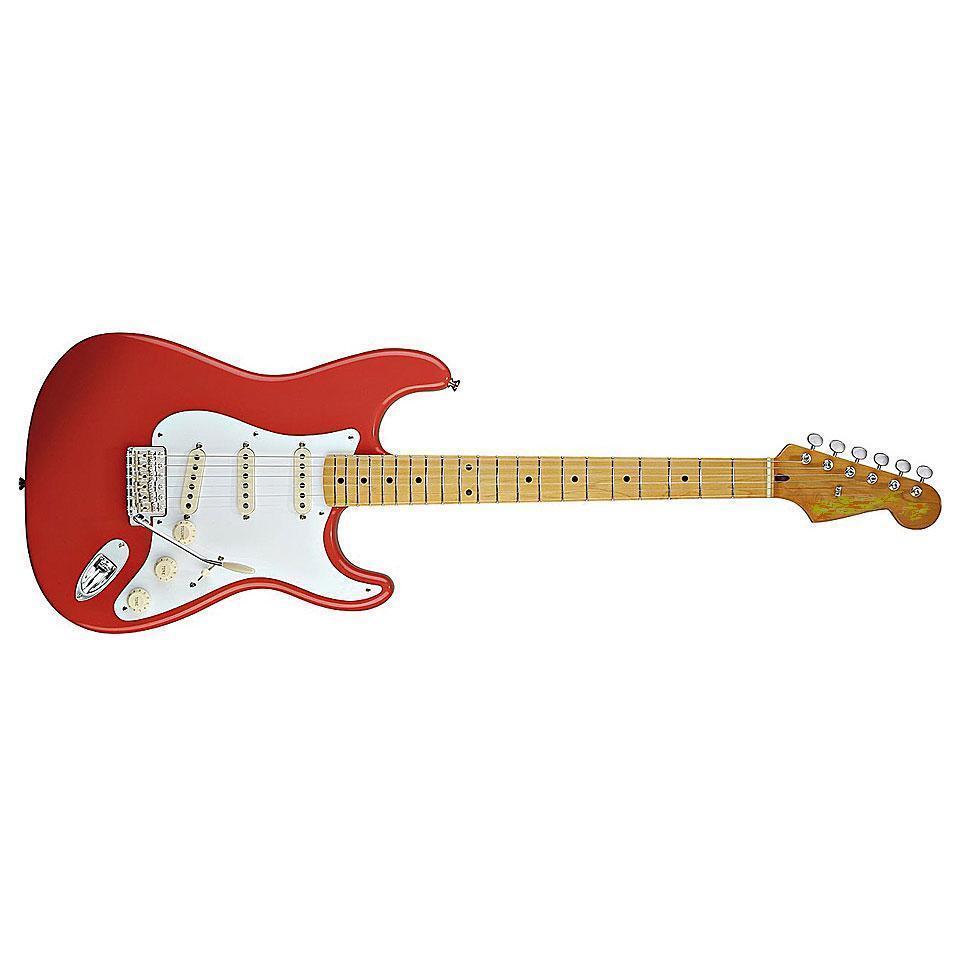 TMG Göldo Strat Bausatz Gitarre Bestee Bauteile lackierter Body Hals alle Parts