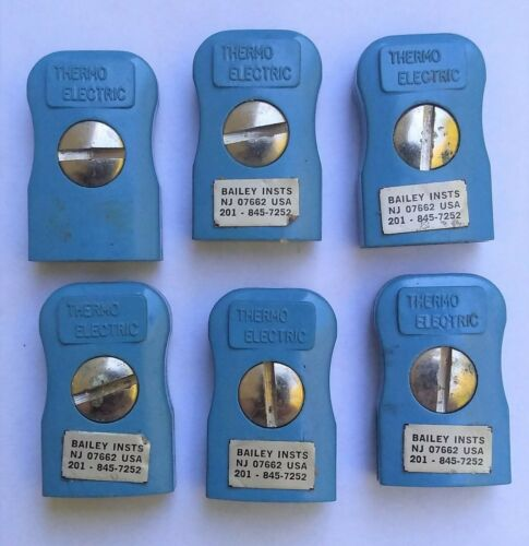 THERMOELECTRIC Type-T Thermocouple Flat-Pin Female Mini-Plugs 6 Lot of 6 Details about  /