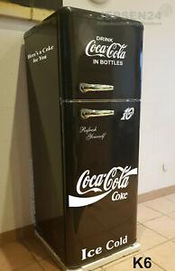 Kult-Kuehlschrank-Gefrierkombination-Schwarz-CocaCola-Design-K6-DTR353-A