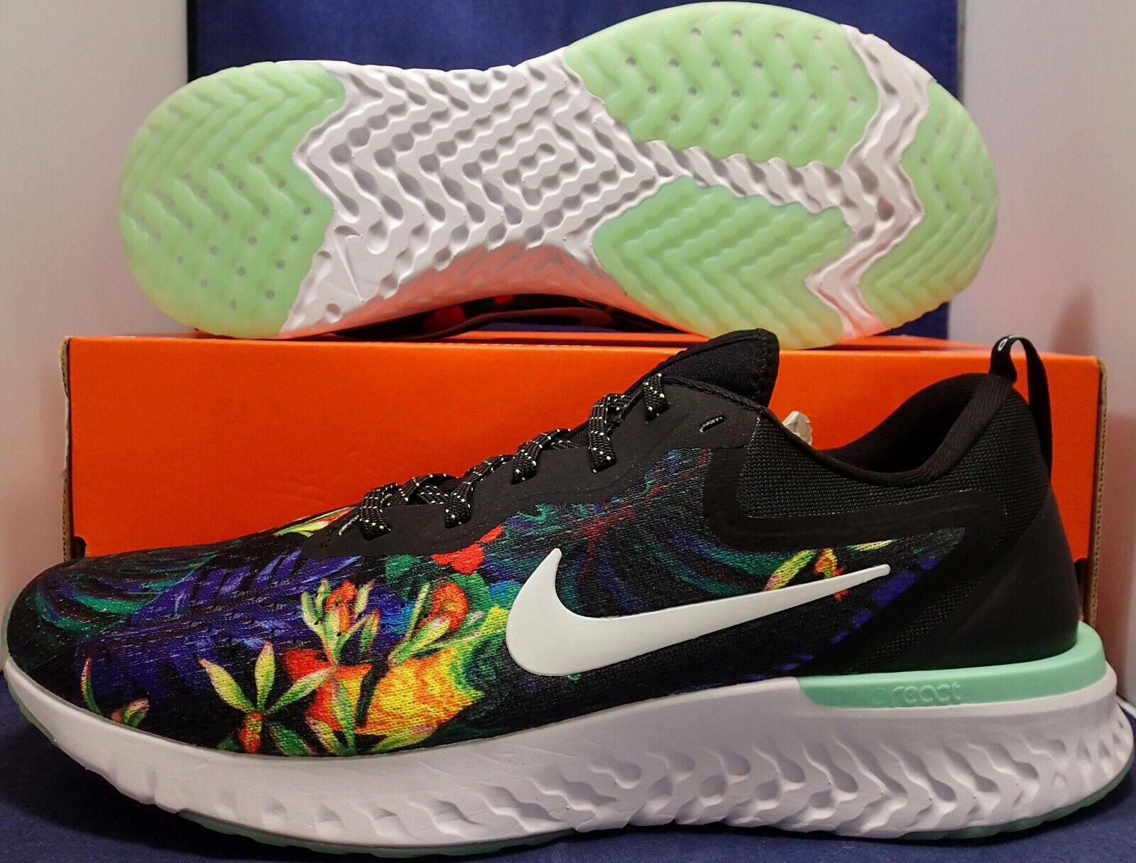 Nike Odyssey React GPX Rs Blaumenmuster Sz 9.5 (AV3255-001)