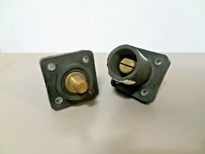 2 -  E1016-1619 Interconnect Single Pole Cam-Type J Series Male Receptacles