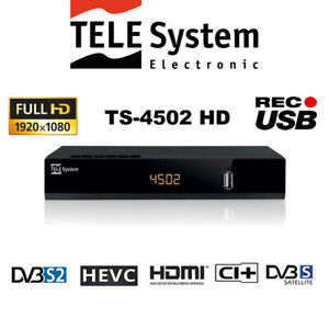 TELE-System-TS4502-HD-S2-HEVC-CI-Digital-Satellite-Decoder