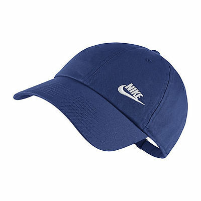 Hat NEW BLUE Adjustable Classic H86 Nike Heritage 86 Futura Women/'s Cap