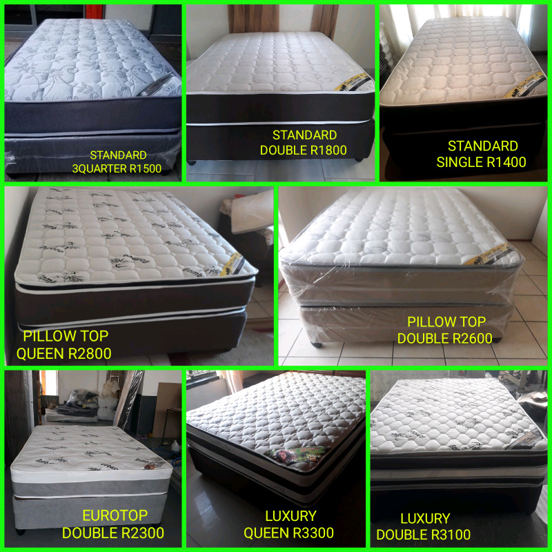 BEST BEDS GUARANTEED DIRECT FROM THE FACTORY PAY CASH ON DELIVERY.