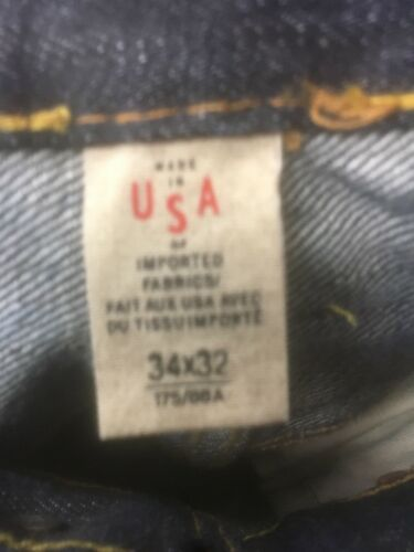 new RRL LOW STRAIGHT INDIGO ONCE WASH SELVEDGE DENIM JEANS double rl american w