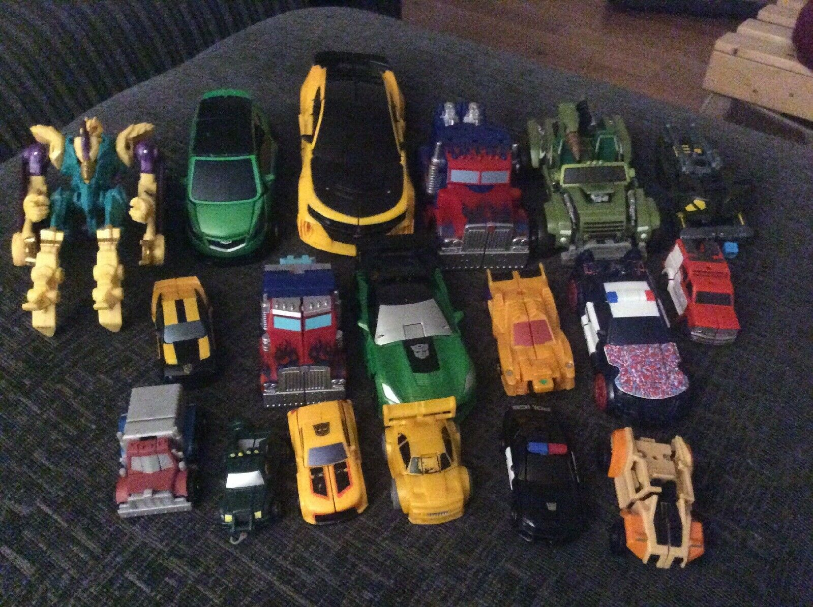 Transformers Bundle Various Series Bulk Lot Of 18 Figures