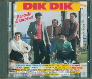 Dik-Dik-Raccolta-Di-Successi-Svcd-1-Sempre-Verde-Ricordi-Cd-Ottimo