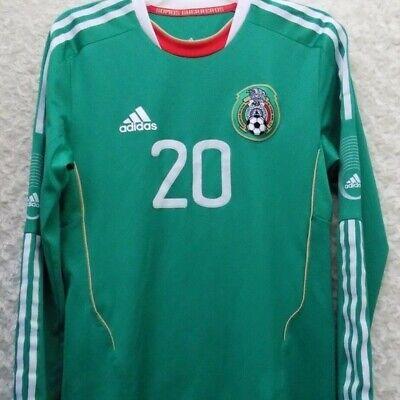 Adidas Mexico Long Sleeve Soccer Jersey Size M Mens NILO   eBay