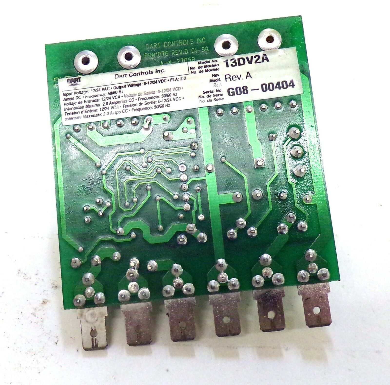 10//20VDC Shunt Wound Volts Dart Controls DC Speed Control Chassis 0 to