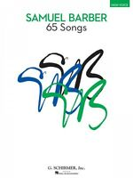 65 Songs High Voice Edition Vocal Collection Book 050490044
