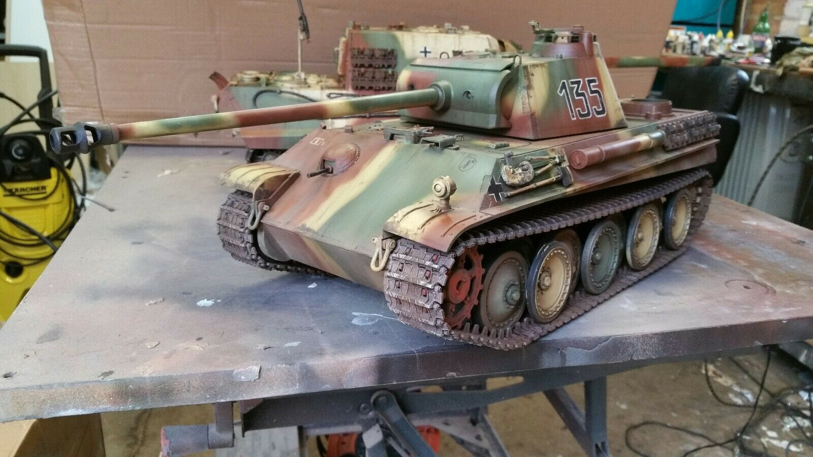 Heng long 1 16 panther g  jagdpanther rc model tank