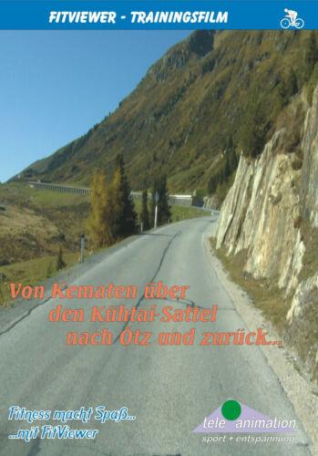 Von Kematen über den Kühtai-Sattel nach Oetz FitViewer Real Life Video Cycling
