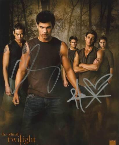 CHASKE SPENCER ALEX MERAZ Autogramm Twilight New Moon Breaking Dawn Autograph